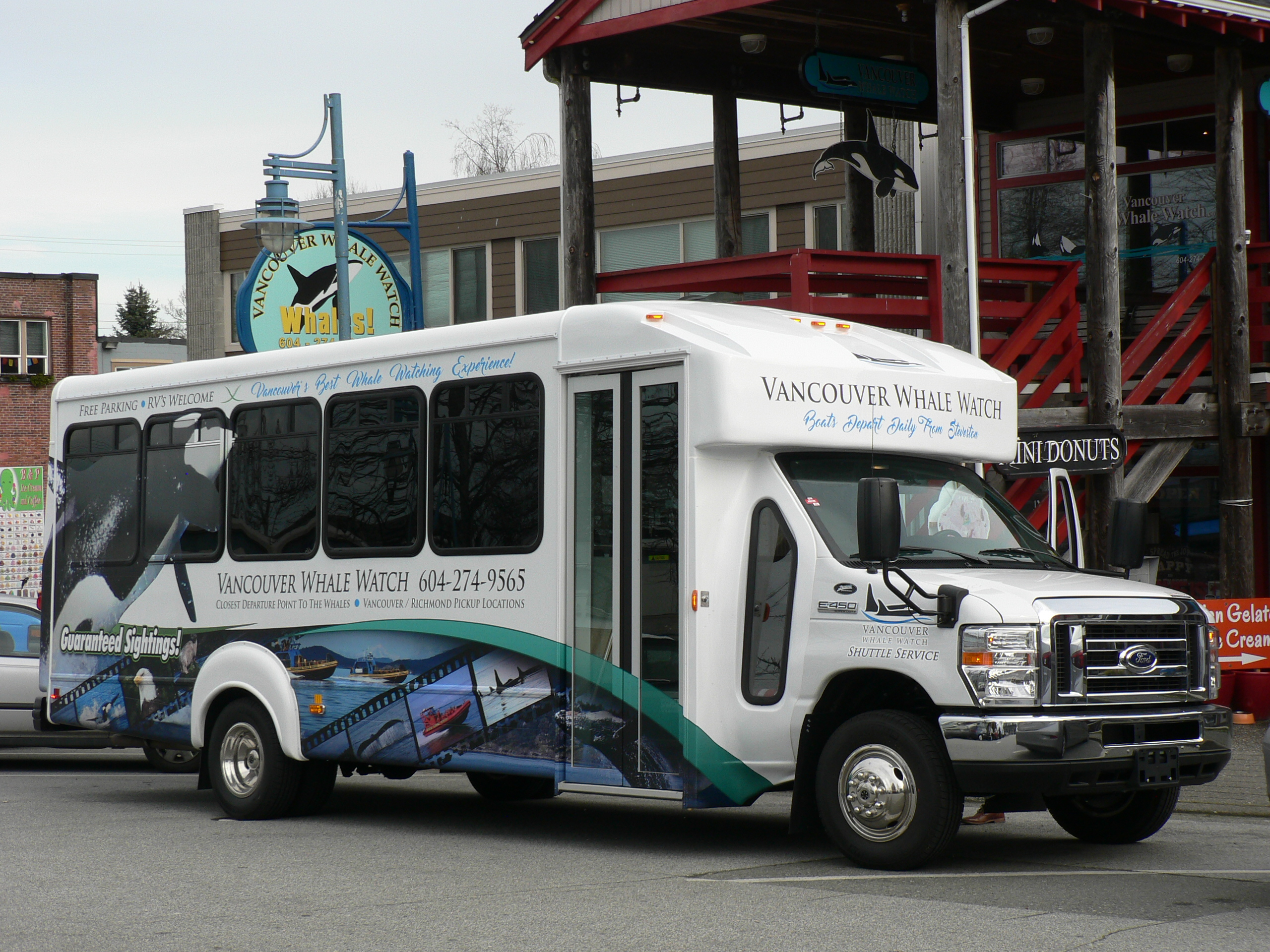 Vancouver Whale Watching Shuttle
